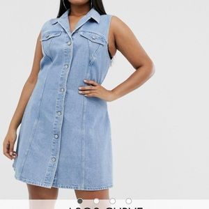 ASOS denim dress BNWT size 20 plus size
